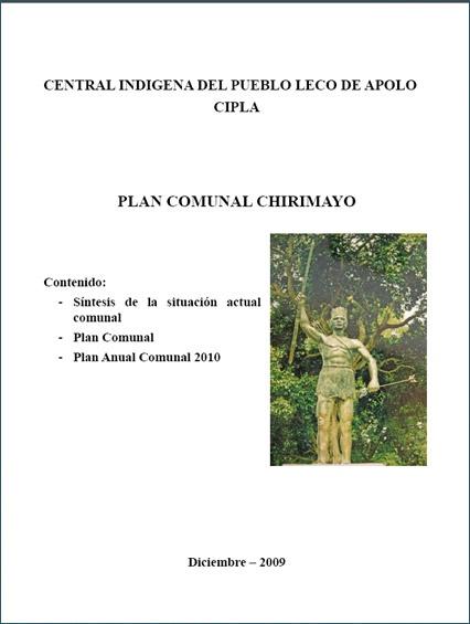 Plan Chirimayo