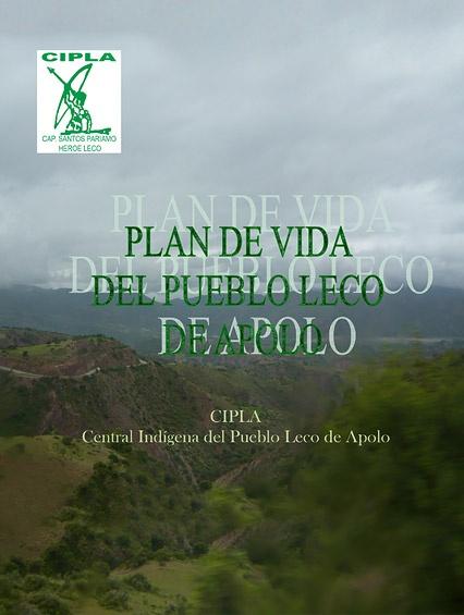 Plan de Vida del Pueblo LECO de Apolo