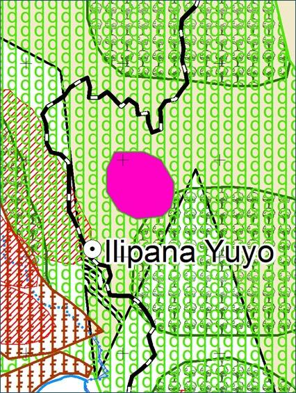 Mapa Comunal  - Comunidad Ilipana Yuyo