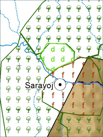Mapa  Comunal  - Comunidad Sarajoy